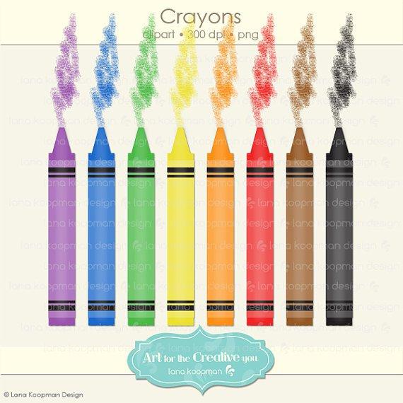 570x570 Crayola Crayons Clip Art