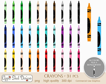 340x270 Crayola Clipart Etsy