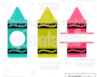 340x270 Crayons Svg Etsy