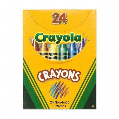 500x500 Free Crayon Box Clipart Image