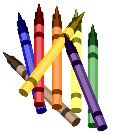 424x464 Pictures Free Clip Art Crayon,