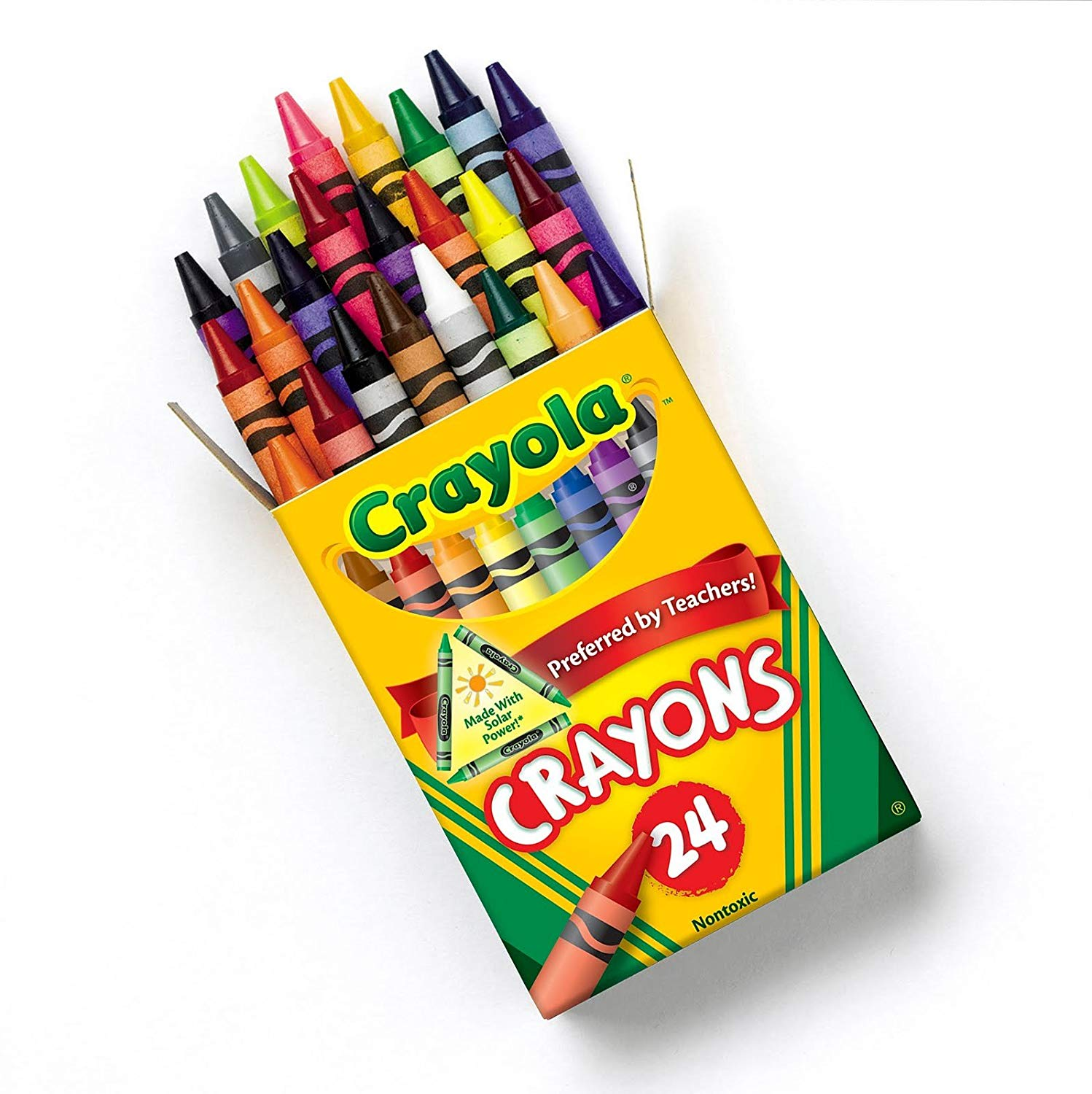 1498x1500 Crayola Crayons 24 Ct (Pack Of 2) Amazon.ca Office Products