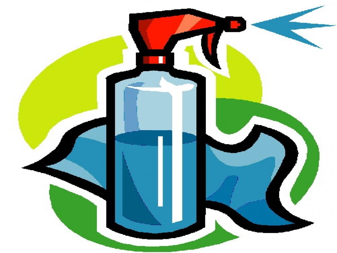 1152x864 Unique Cleaning Supplies Clipart Design