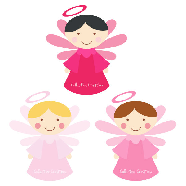 600x600 Little Angel Clipart Free Ba Clip Art Cliparts And Others Pink