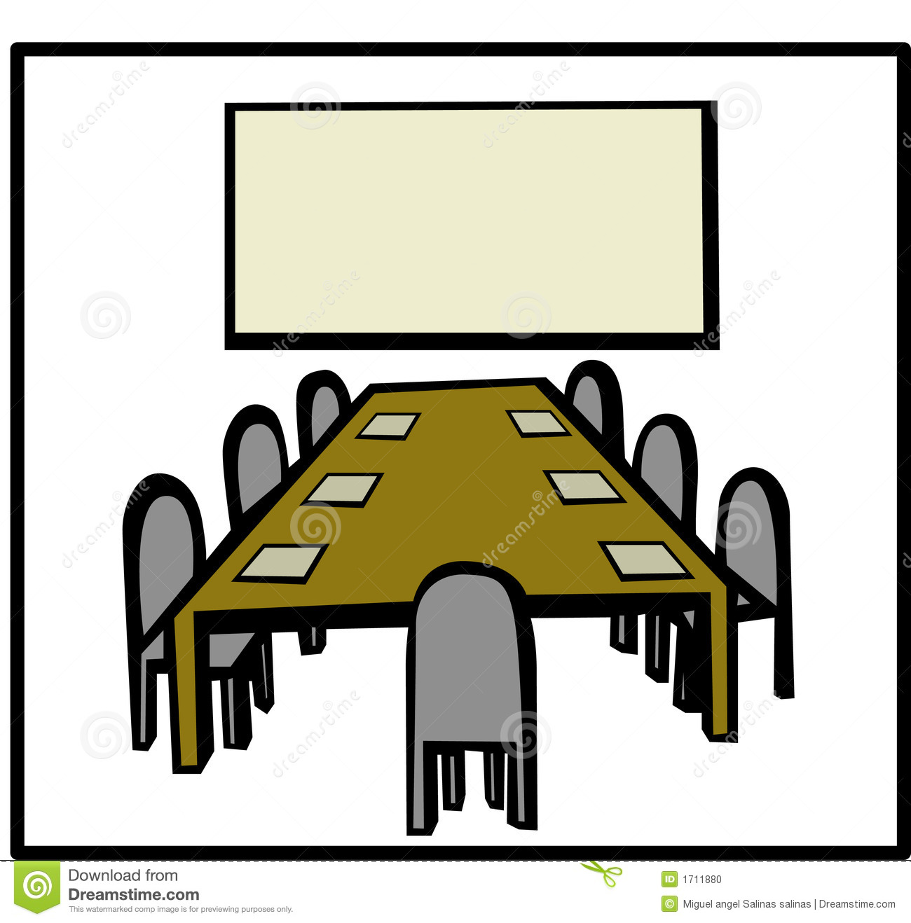 1300x1318 Creative Conference Room Clip Art Clipart