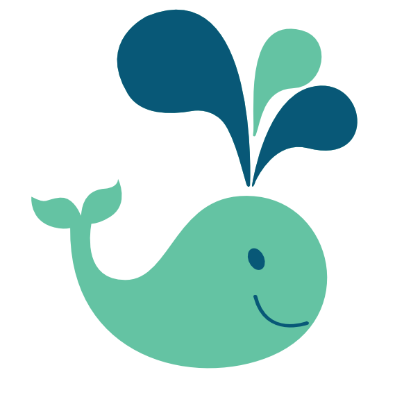 569x569 Colorful Animal Whale Scalable Vector Graphics Svg Scalable Vector