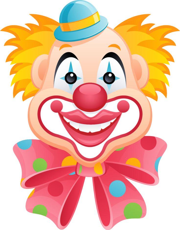 Creepy Clown Clipart