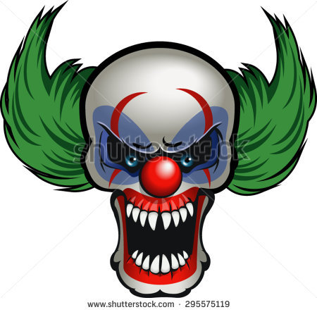 Creepy Clown Clipart At Getdrawingscom Free For Personal Use