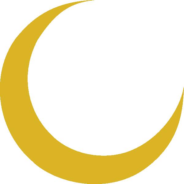 600x599 Crescent Moon Clip Art