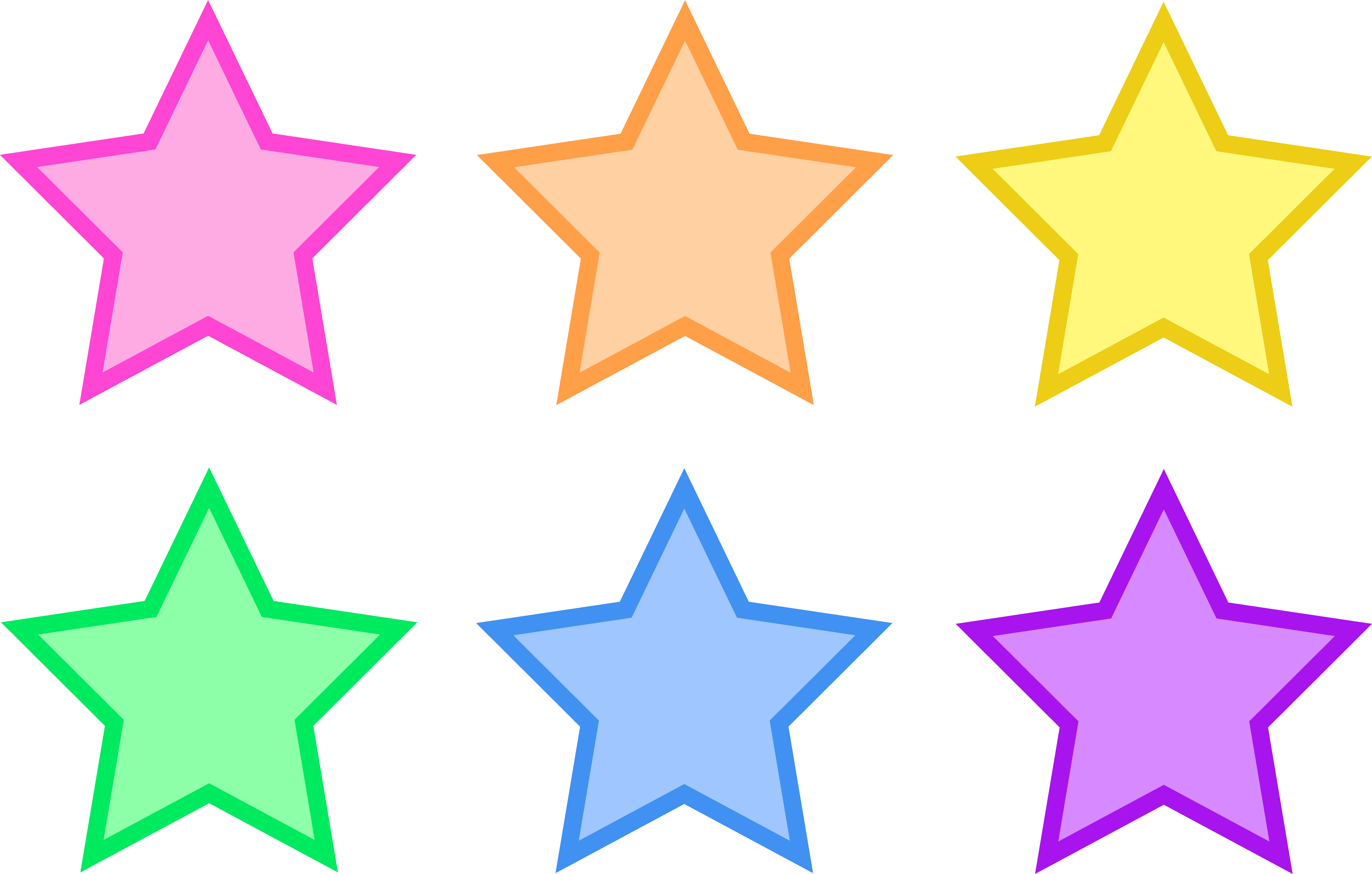 6530x4161 Image Of Star Border Clipart