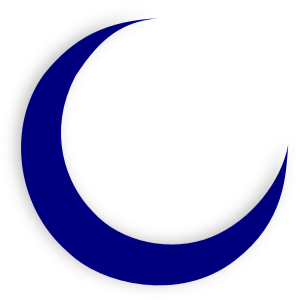 300x300 Crescent Moon Clipart Crescent Moon Clip Art