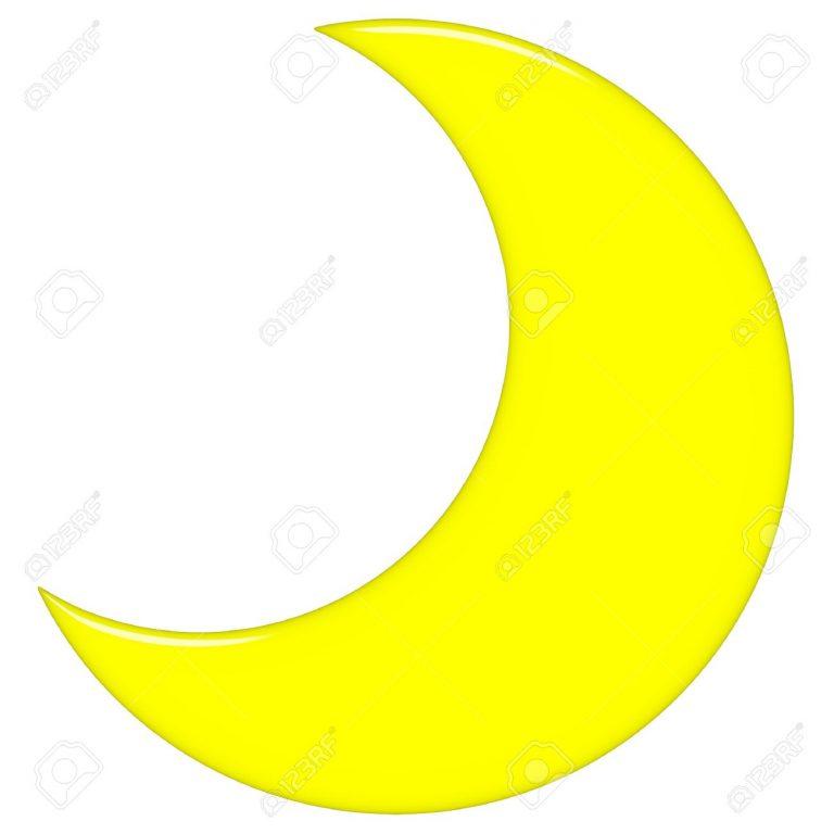 768x768 Crescent Moon Clipart Half Moon Clipart Crescent Moon Clipart 1300