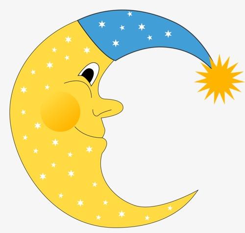 500x475 Crescent, Moon, Meniscus, Cartoon Moon Png Image And Clipart