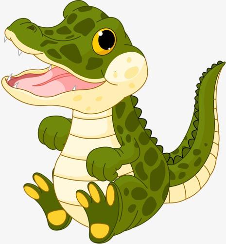 465x500 Cartoon Crocodile, Crocodile, Amphibians, Ferocious Animals Png