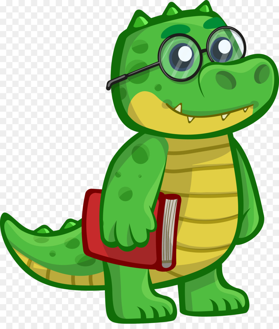 900x1060 Nile Crocodile Alligator Cartoon Clip Art