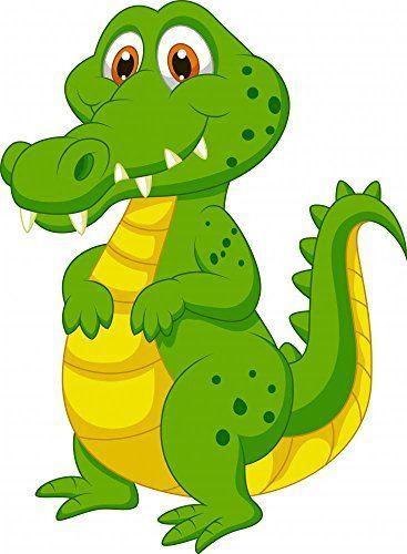 367x500 Wallmonkeys Wm34387 Cute Crocodile Cartoon Peel And Stick