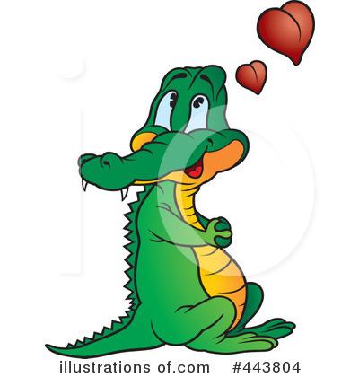 400x420 Crocodile Clip Art