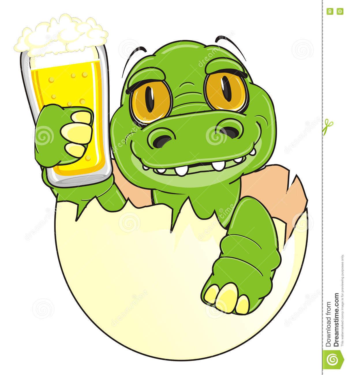 1206x1300 Beer Clipart Crocodile 3065465