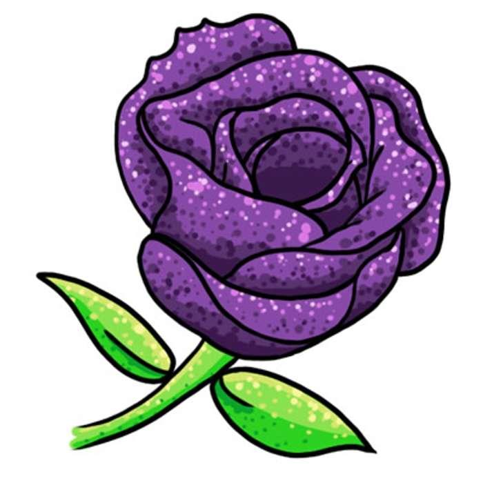 700x700 Purple Flower Clipart Purple Crocus Flower Png Clipart Image