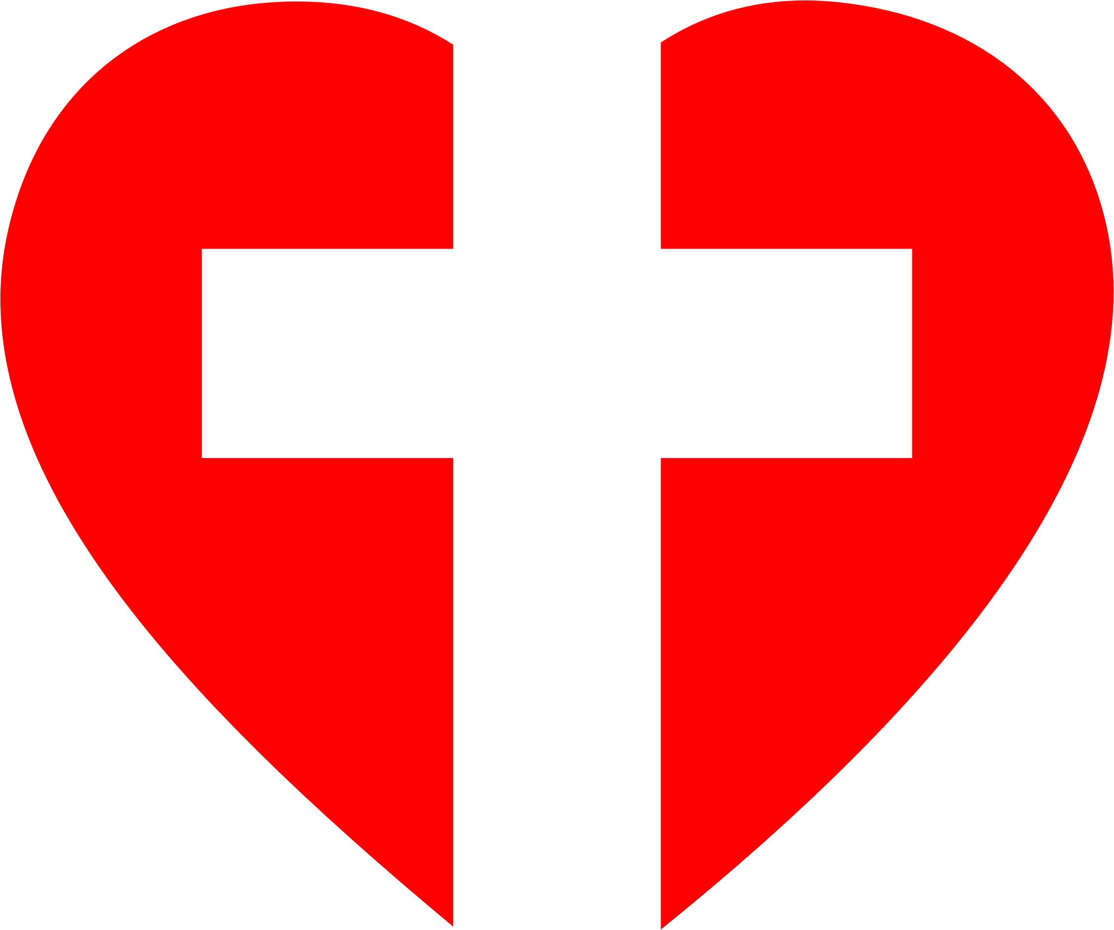 2260x1886 Heart Cross Icons Png