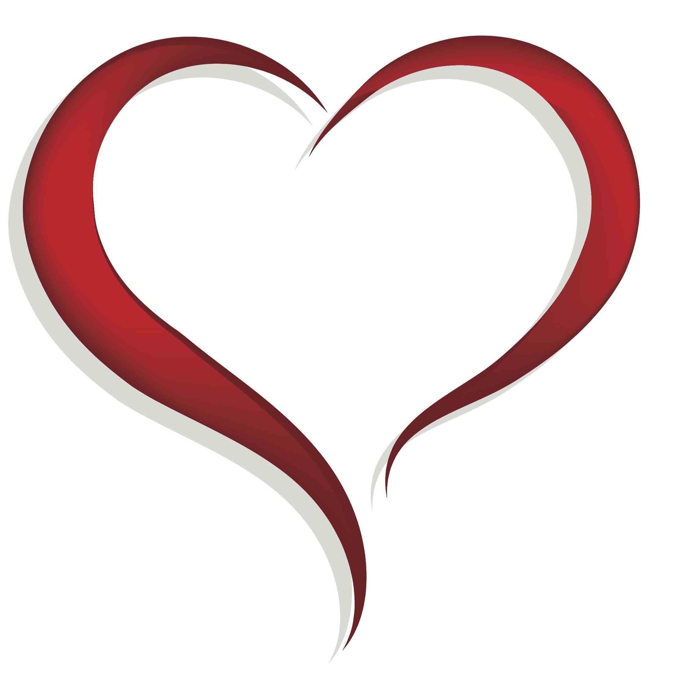 2219x2219 Open Heart Clipart Clip