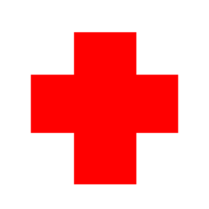 300x300 Red Cross Circle 2 Clip Art