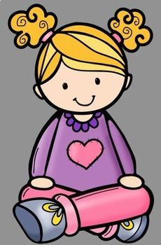 230x350 Criss Cross Kids Clip Art By Whimsy Workshop Teaching Tpt
