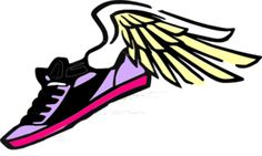 236x141 Running Shoe With Wings Clip Art My Girls Clip Art