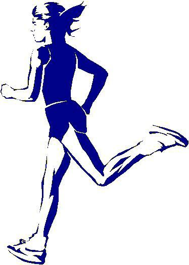 374x526 Cross Country Running Clip Art