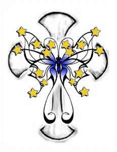 Cross Tattoo Clipart