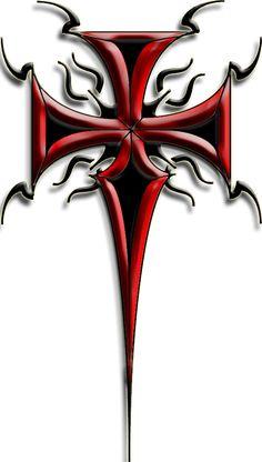 236x416 Gothic Cross