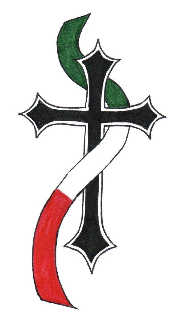 600x1034 Italian Cross By Monophobian