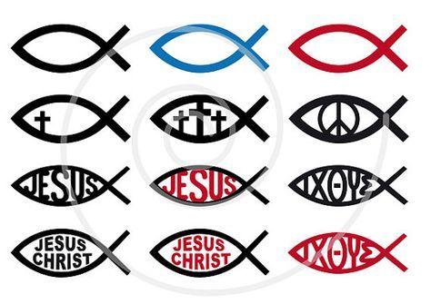 474x335 Jesus Christ Symbol, Fish Sign, Religious Icons, God, Cross