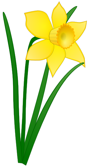 293x549 Clipart Easter Flower Free