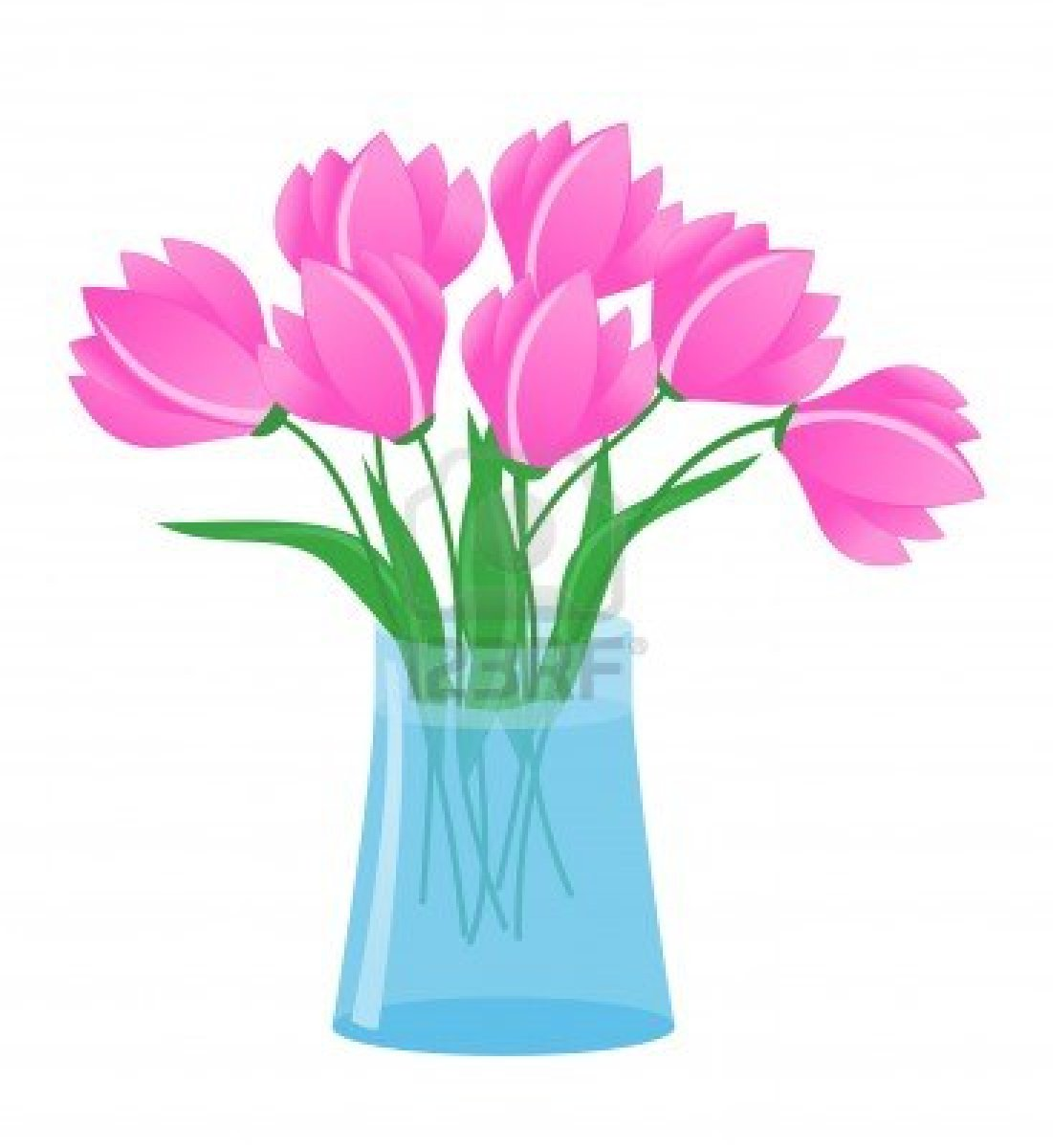 1101x1200 Flower Drawing Clip Art Vases