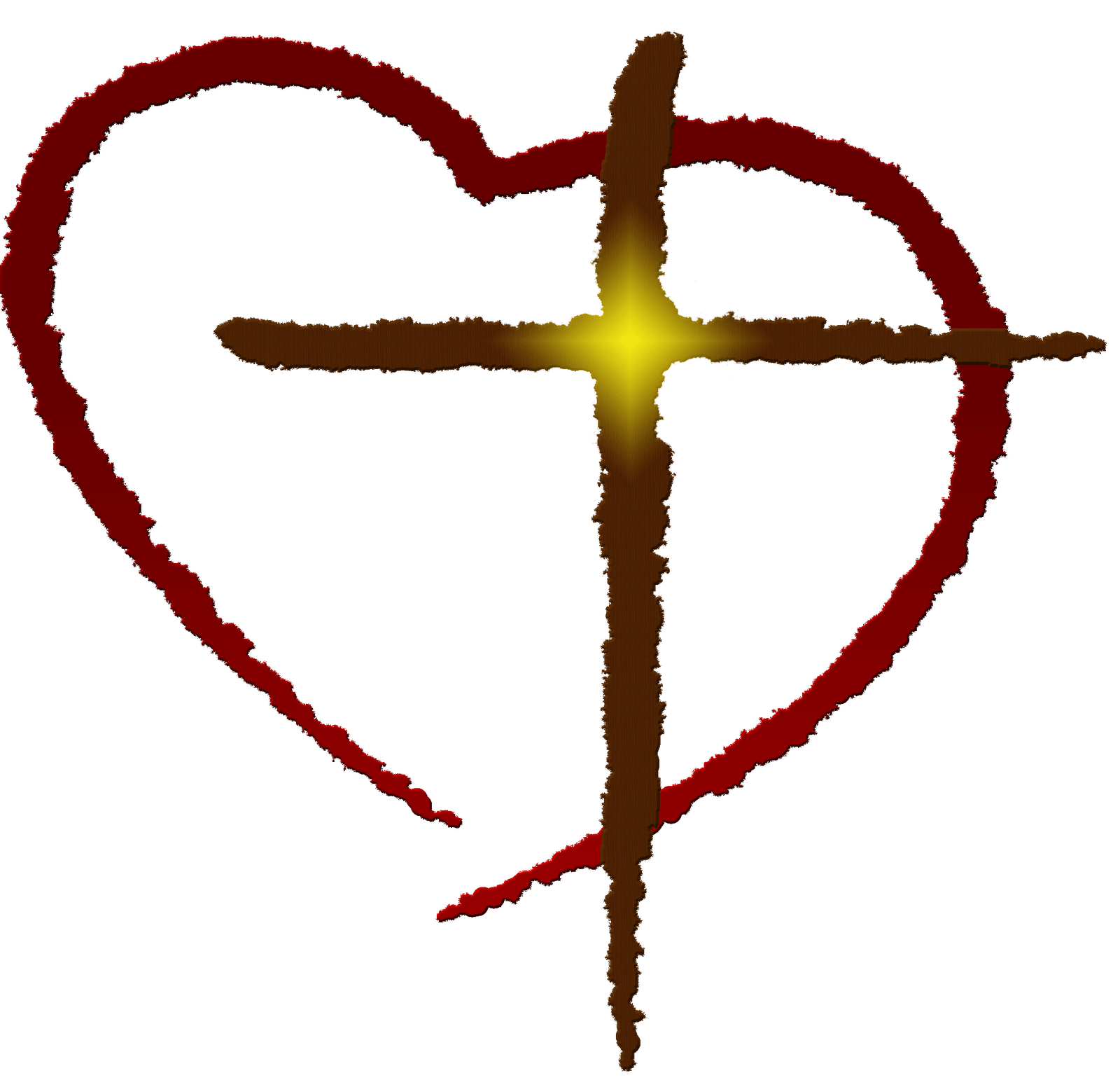 1600x1542 Christian Heart Clipart