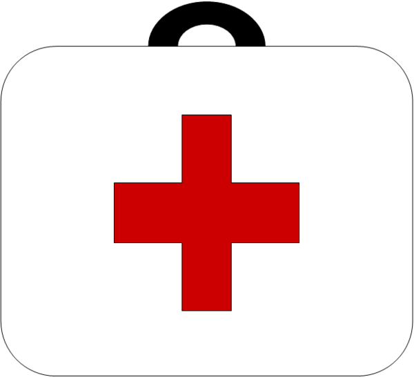 600x546 Clipart Of First Aid Cross