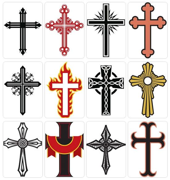 550x583 Sketches And Drawings Of Crosses Kool Tat'S