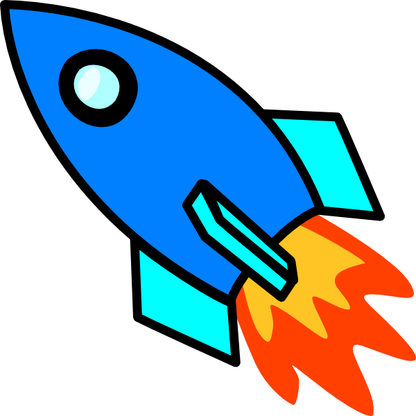 600x600 Collection Of Simple Rocket Clipart High Quality, Free