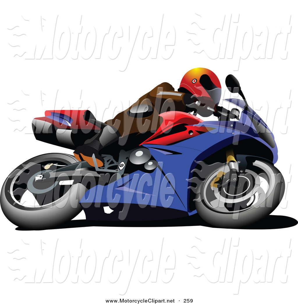 1024x1044 Transportation Clipart Of A Person On A Crotch Rocket Motorcycle