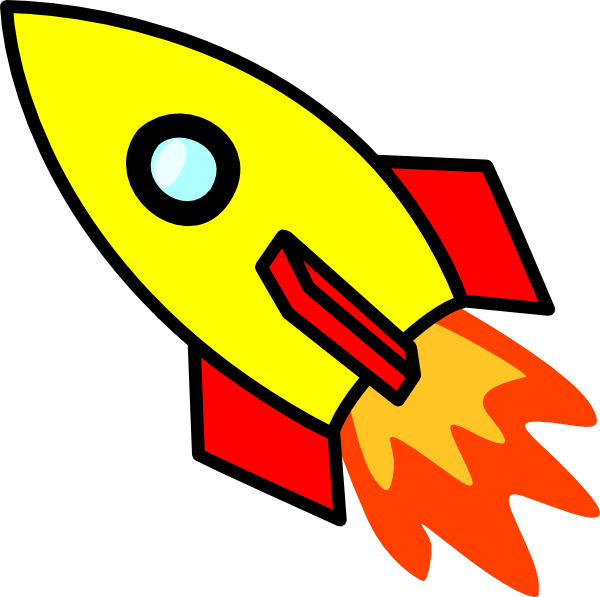 600x597 Collection Of Rocket Clipart Images High Quality, Free