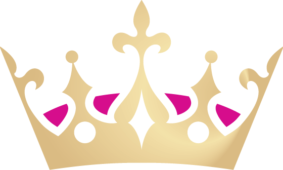 560x336 Gold Princess Crown Clipart