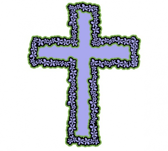 590x531 Free Crucifix Clipart