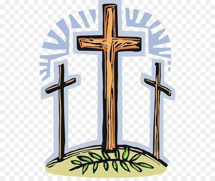 900x760 Good Friday Christian Cross Clip Art