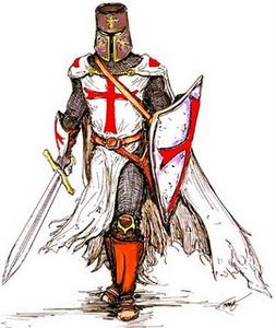253x300 Medieval Knights Knight Templar Image