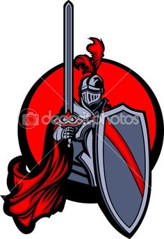 236x344 Knight Clipart Royalty Free Vector Of A Logo Of A Medieval Knight