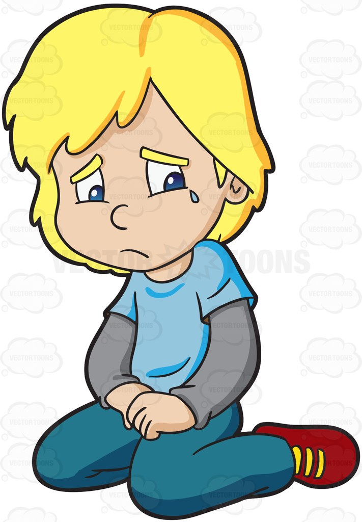 Crying Clipart