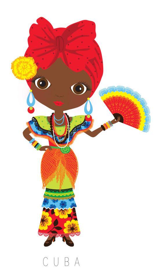 545x954 Pin By Maritza Barbara On Cuba Dolls, Illustrations