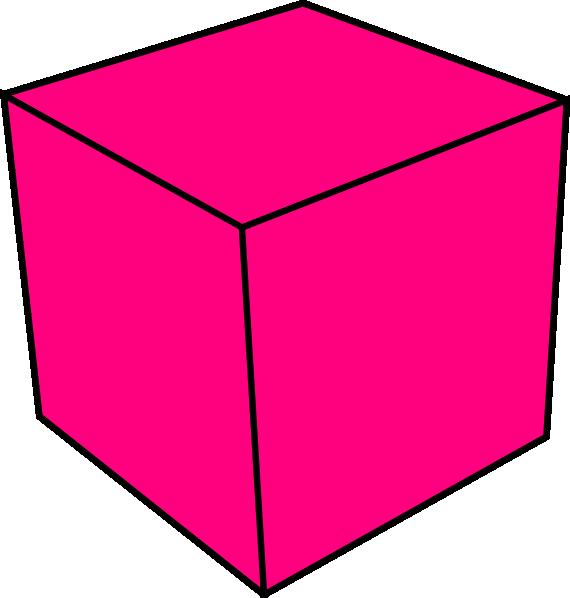 570x598 Cube Clip Art
