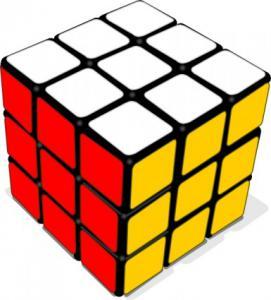 271x300 Rubik Cube Clip Art Download